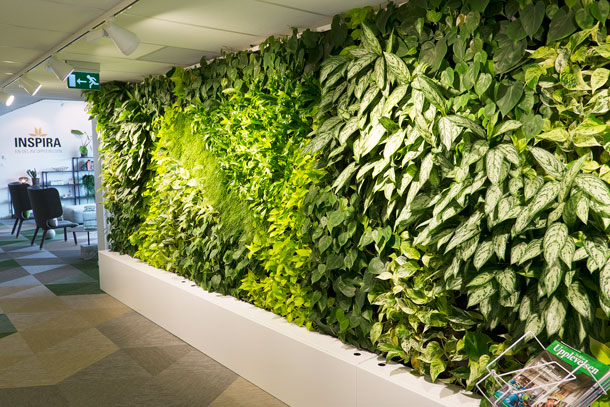 Plantwall by Green City AB